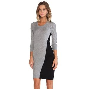 MCQ Alexander McQueen Colour Block Sweater Dress